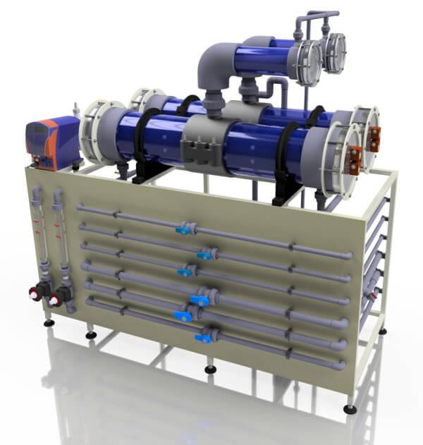 Электролизные установки для приготовления гипохлорита натрия
