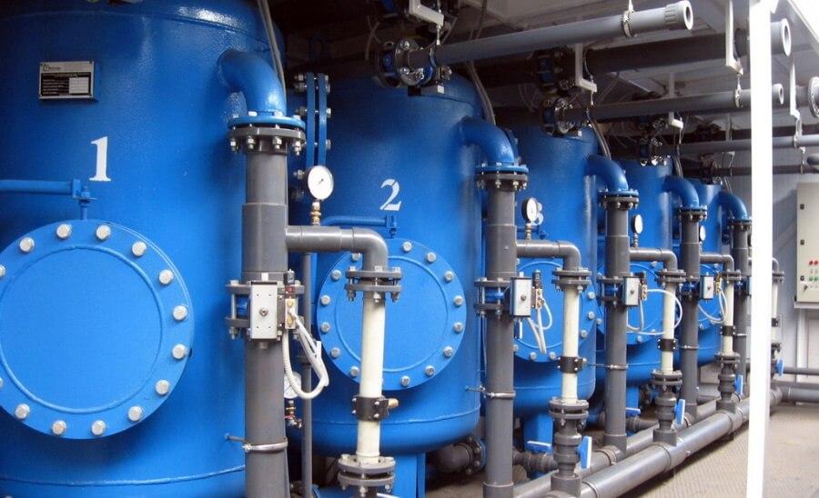 Система водоподготовки для производства